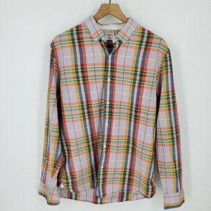 Bonobos Pastel Standard Fit Plaid Button Up Shirt
